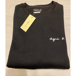 agnes b. - アニエスベー 胸元 ロゴ トレーナー 新品