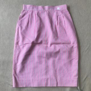 Courreges - 【未使用に近い】 Courreges この色使いだから好きなんです膝丈スカート