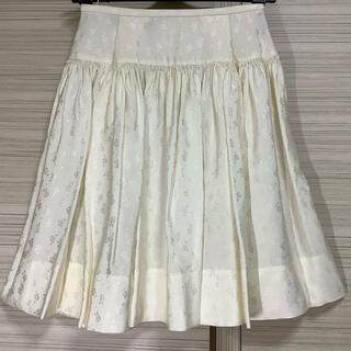 ドゥロワー(Drawer)の【 ROCHAS 】 ロシャス   ★スカート★ 1回着用(ひざ丈スカート)