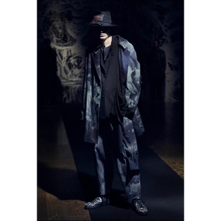 Yohji Yamamoto - 新品未使用yohjiyamamoto pour homme 21SS 総柄パンツ