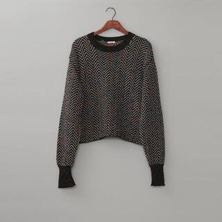 ジョンローレンスサリバン(JOHN LAWRENCE SULLIVAN)のmasu 21aw candy  sweater(ニット/セーター)