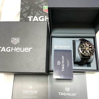 TAG Heuer - 極美品 タグホイヤー カレラ タキメーター キャリバー16クロノグラフ2020年