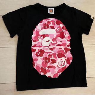 アベイシングエイプ(A BATHING APE)のBape kids Tシャツ 100cm(Tシャツ/カットソー)