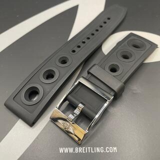 BREITLING - 希少!22mm BREITLING ブライトリング エアレーサー ラバーベルト!