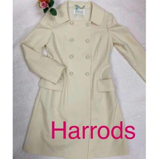 ハロッズ(Harrods)の《美品》☆Harrods☆ライトウールコート 2(ロングコート)