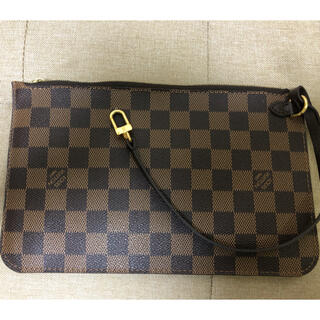 LOUIS VUITTON - ルイヴィトン ダミエ 正規品 トートバッグ付属ポーチ