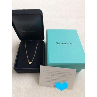 Tiffany & Co. - TIFFANY&CO. バイザヤード YG ダイヤ ネックレス 0.25ct