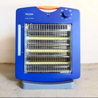 テクノス(TECHNOS)のTEKNOS TS-902S(A) 遠赤外線ヒーター スチーム加湿機能付き(電気ヒーター)