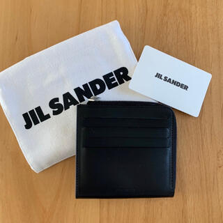 Jil Sander - メンズ JIL SANDER ジルサンダー ロゴ コインケース カードケース