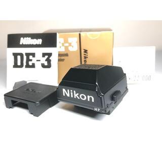 Nikon - 極上品 ニコン DE-3 F3用ハイアイポイントファインダー