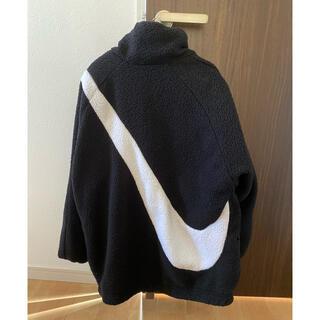 NIKE - NIKE ボアジャケット黒×白 L