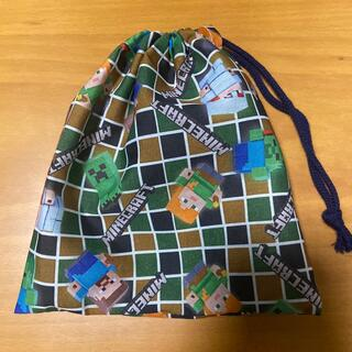 マインクラフト 巾着袋 コップ袋
