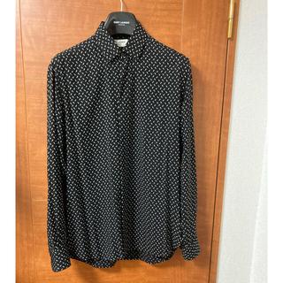 Saint Laurent - サンローラン シャツ 美品 三角 ドット ジャケット  セリーヌ ディオール