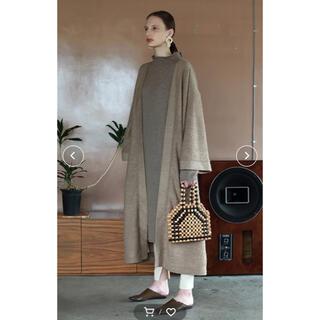 トゥデイフル(TODAYFUL)のTODAYFUL Softwool Gown Coat ソフトウールガウンコート(ロングコート)