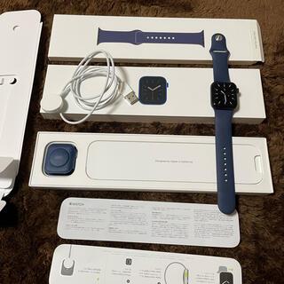 アップルウォッチ(Apple Watch)のApple Watch series6 40mm(GPS)ブルー未使用・開封済品(その他)