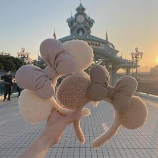 Disney - ディズニー カチューシャ ミミ ボア