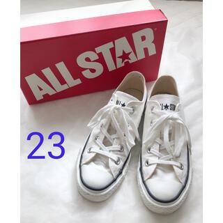 DEUXIEME CLASSE - コンバース ALL STAR J OX オールスター ホワイト 23 US4