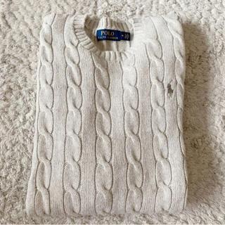 ラルフローレン(Ralph Lauren)の《美品》ラルフローレン ケーブル編み メンズ ニット セーター(ニット/セーター)