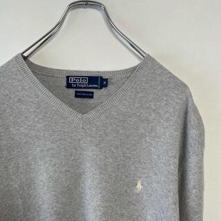 ラルフローレン(Ralph Lauren)の古着 90s POLO Ralph Lauren コットンニット セーター(ニット/セーター)