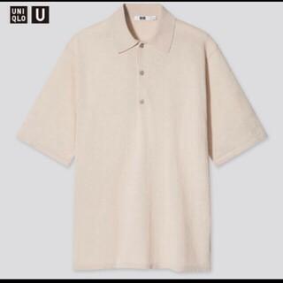 UNIQLO - ユニクロU. ファインゲージポロシャツ Lサイズ