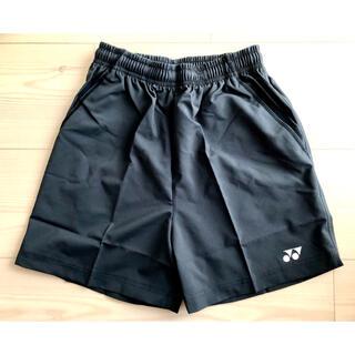 ヨネックス(YONEX)の新品 YONEX ヨネックス ハーフパンツ レディース M 黒 ブラック 刺繍(バドミントン)
