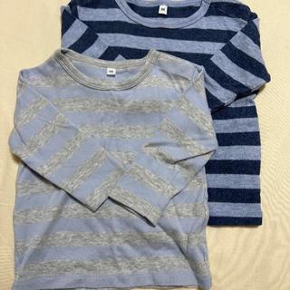 ムジルシリョウヒン(MUJI (無印良品))の無印良品 長袖カットソー 2枚(シャツ/カットソー)