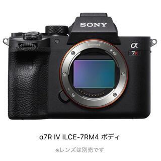 SONY - ソニーミラーレス一眼レフカメラ α7R IV ILCE-7RM4