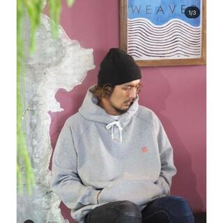 1LDK SELECT - レア SEESEE HOODIE GREY ロゴ刺繍 フーディ グレー 別注