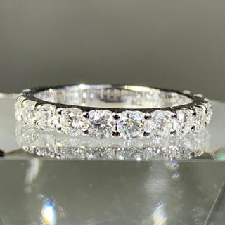 エタニティ ダイヤモンド1カラット プラチナ エタニティリング