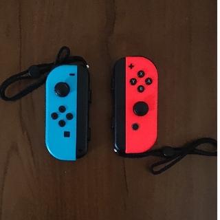Nintendo Switch - ジャンク品 ジョイコン joy-con ネオンレッド/ネオンブルー