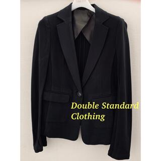 ダブルスタンダードクロージング(DOUBLE STANDARD CLOTHING)の動きやすい!Double Standard Clothing★ジャケット★黒(テーラードジャケット)