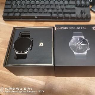 HUAWEI - Huawei watch GT2 pro night black