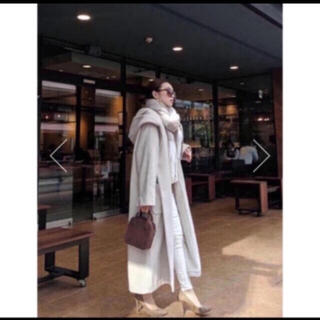 リエンダ(rienda)の❤️【送料込】定価18000rienda フードガウンWOOL MIXミディCT(ロングコート)