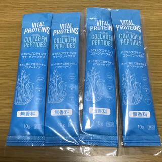 ネスレ(Nestle)のバイタルプロテインズ コラーゲンペプチド 4本セット(コラーゲン)