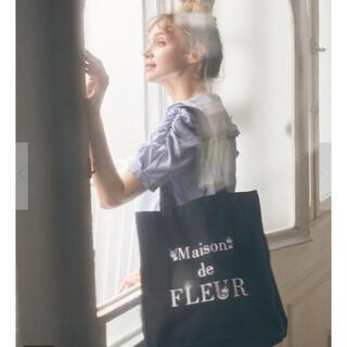 Maison de FLEUR - 【新品・未使用】メゾンドフルール クロミかくれんぼトートバッグ