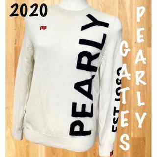 PEARLY GATES - 2020✨パーリーゲイツ ビッグロゴ カシミヤ100% ニット セーター