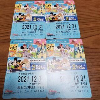 Disney - ディズニーリゾートライン 2days