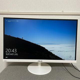 ASUS - ASUS 27インチモニター VC279H-W ホワイト 電源コード HDMI付