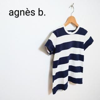 agnes b. - agnès b. 太ボーダーTシャツ カットソー