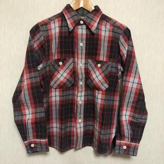 ウエアハウス(WAREHOUSE)のWAREHOUSE ウエアハウス ヘビーネルシャツ チェックシャツ(シャツ)