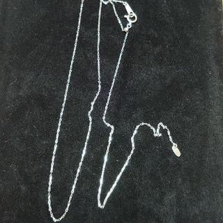 プラチナ850 スライドアジャスター 45cmネックレスチェーン