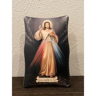 慈しみのイエス・キリスト ●イタリア製●置物●壁掛け●インテリアにも最適(置物)