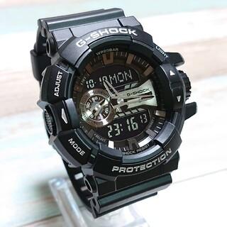 G-SHOCK - 美品【CASIO/G-SHOCK】デジアナ メンズ腕時計 GA-400GB-1A