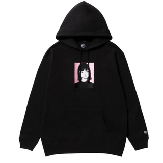 FRAGMENT - XXL Kyne Embroidered Hoodie ON AIR パーカー