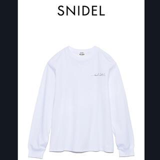 スナイデル(snidel)のSNIDEL feat. KURT COBAIN グラフィックロングTシャツ(Tシャツ(長袖/七分))