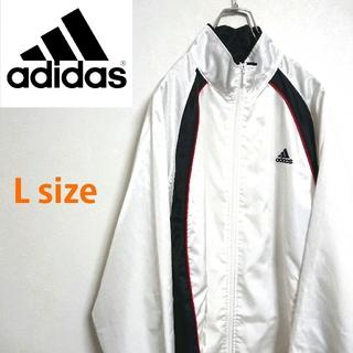 アディダス(adidas)の90s adidas アディダス ビッグサイズ  ナイロンジャケット アウター(ナイロンジャケット)