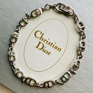Christian Dior - クリスチャンディオール 💙 ヴィンテージ ロゴ ブレスレット