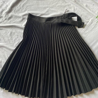 Balenciaga - バレンシアガ BALENCIAGA 黒プリーツスカートシャネルグッチバレンチノ