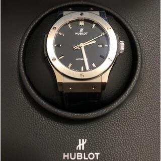 HUBLOT - HUBLOT ウブロ クラシックフュージョン チタニウム 腕時計【中古】