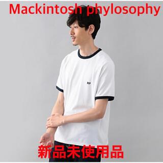 マッキントッシュフィロソフィー(MACKINTOSH PHILOSOPHY)の【新品未使用品】Mackintosh Philosophy 半袖Tシャツ(Tシャツ/カットソー(半袖/袖なし))